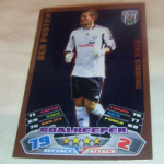 Topps Match Attak  Foil Ben Foster Star Signing West Bromwich Albion Football Trading card